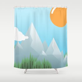 Shower Curtain - Eat the World - Moremo
