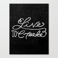 Special Edition Circles 2013 Prints - Be A Storyteller Canvas Print