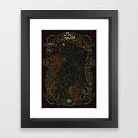 E.J.A.C Framed Art Print