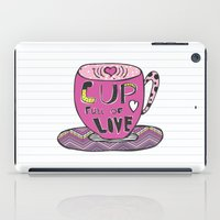 Cup Full Of Love iPad Case