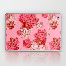 hydrangea (doubled) Laptop & iPad Skin