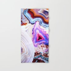Agate, a vivid Metamorphic rock on Fire Hand & Bath Towel