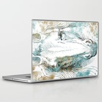 horse Laptop & iPad Skins featuring Horse   by Zen and Chic