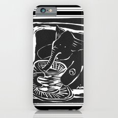 elefante col caffe' iPhone 6s Slim Case