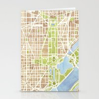 Washington DC Watercolor… Stationery Cards