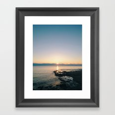 Sunrise I Framed Art Print