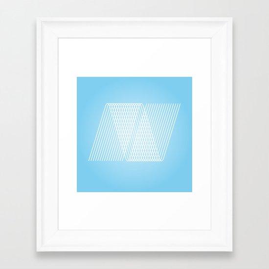 N like N Framed Art Print