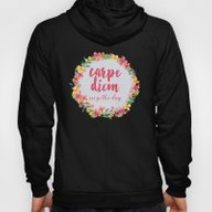 Carpe Diem / Seize The D… Hoody