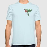 Muttervogel Mens Fitted Tee Light Blue SMALL