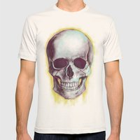 UNCOVERED Mens Fitted Tee Natural SMALL