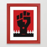 RACISM Framed Art Print