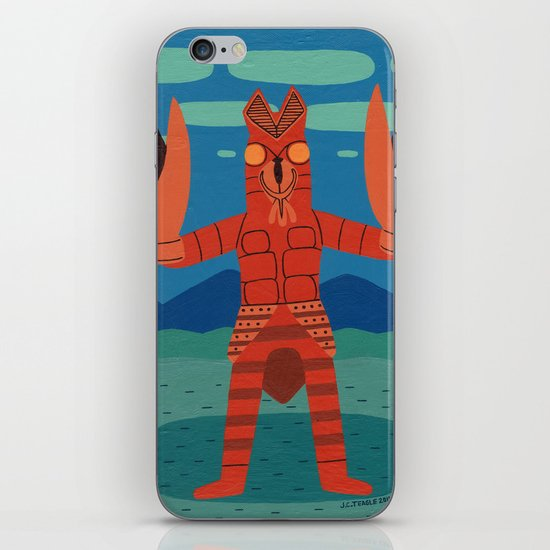 Alien Baltan iPhone & iPod Skin