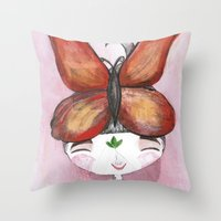 Joy -Bhoomie Throw Pillow
