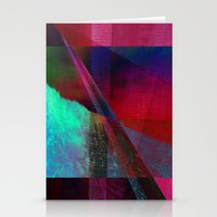 Abstract Geometric Desig… Stationery Cards