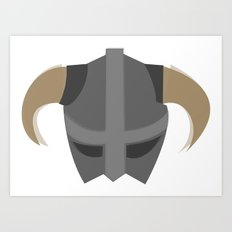 The Saviour of Skyrim Art Print