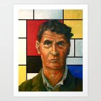 Ludwig Wittgenstein Art Print