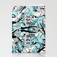 Crash & Burn Stationery Cards