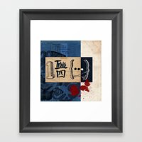 One And Three Quarters O… Framed Art Print