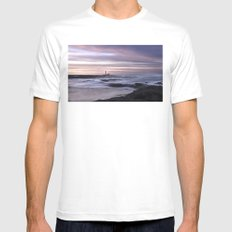 Lighthouse´s Fuerteventura Mens Fitted Tee White SMALL