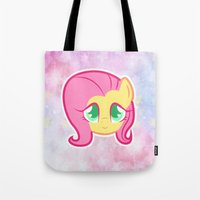 FlutterSHY Galaxy Tote Bag