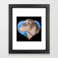 Odo Framed Art Print
