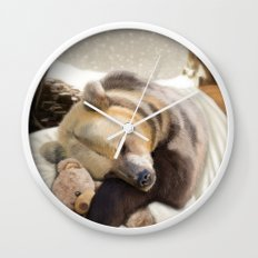 Sweet dreams, Mr Bear Wall Clock