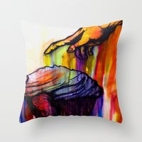 Anointed Cake Throw Pillow