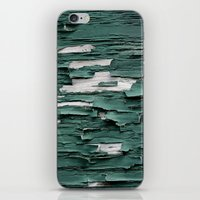Green Paint III iPhone & iPod Skin