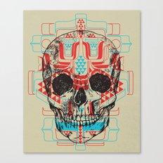 Skull Native Canvas Print