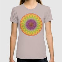 Mandala Imagining Marrakech Womens Fitted Tee Cinder SMALL