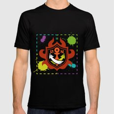 Splatoon - Game of Zones SMALL Mens Fitted Tee Black