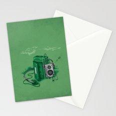Music Break Stationery Cards