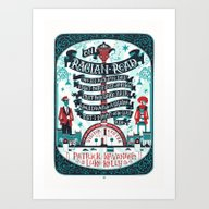 On Raglan Road Art Print