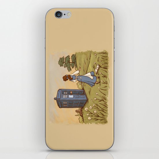 Adventure in the Great Wide Somewhere iPhone & iPod Skin