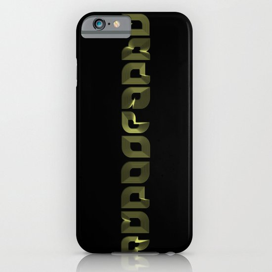 Typography iPhone & iPod Case