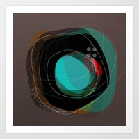 the abstract dream 8 Art Print