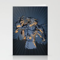 The Werewolf of Wall Street Stationery Cards
