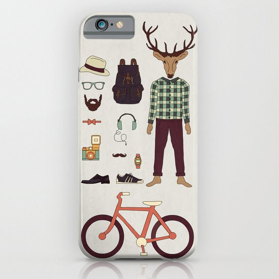 Deer Boy iPhone & iPod Case