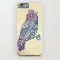 Owl King Color iPhone 6 Slim Case