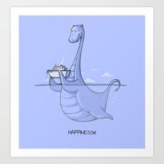 HAPPINESSie Art Print