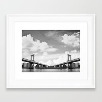 Vanishing Point Framed Art Print