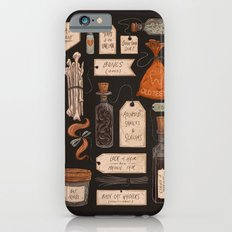 Spooky Halloween Odds and Ends iPhone 6 Slim Case