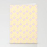 Ysabel (lemon) Stationery Cards