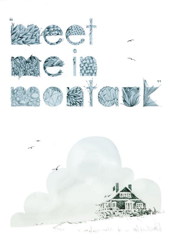 """Meet Me In Montauk"" Canvas Print"