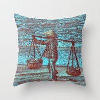 Viet Throw Pillow