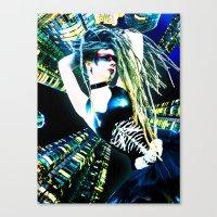 Black Me Out Canvas Print
