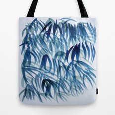 blue breeze Tote Bag