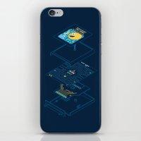 Blueprint Waka-Waka iPhone & iPod Skin