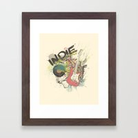 It's Indie Rock'n'Roll Framed Art Print
