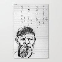 Popmaster Scores Canvas Print